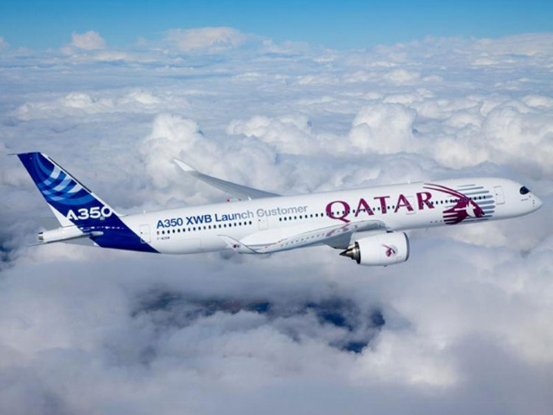 Qatar Airways to Receive 1st Airbus A350 by Mid-December