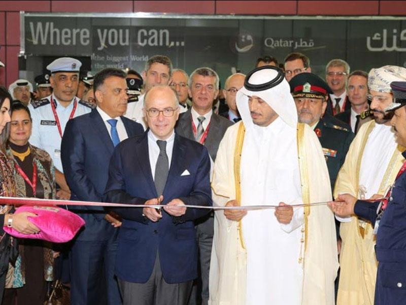 Qatar Prime Minister Inaugurates Milipol 2014