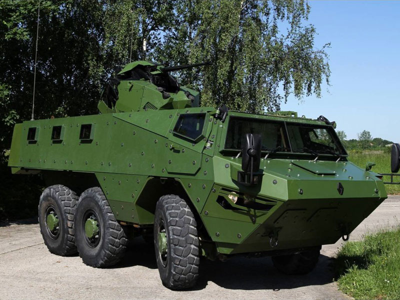 Renault Trucks Defense VAB Mark III at Milipol Qatar