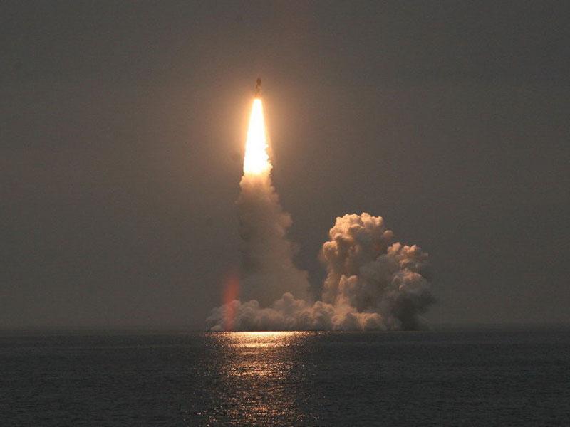 Russia Test-Fires Bulava Sub-Based Ballistic Missile