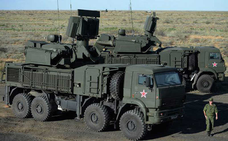 Russia Tests Pantsir S-1 Air Defense System