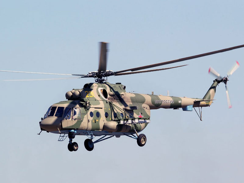 Russian Helicopters Delivers First 4 Upgraded Mi-8AMTSh