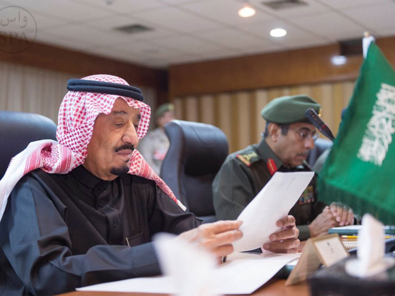 Saudi Crown Prince Receives Chief of Pakistani Naval Forces