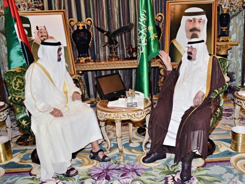 Saudi King, Abu Dhabi Crown Prince Discuss Gaza Crisis