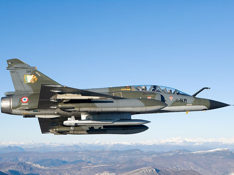 Six Mirage Jets to Join France's Fight Against ISIS