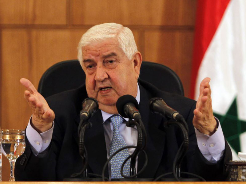 Syria Ready to Cooperate With the World to Fight Terrorism