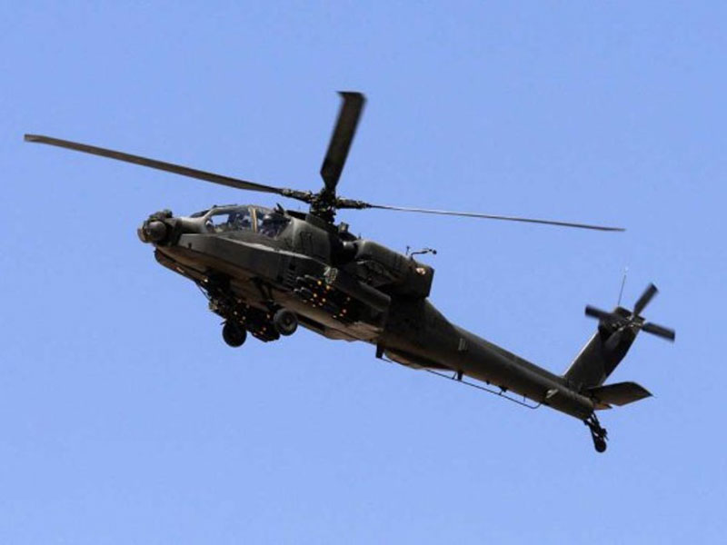 U.S. to Deliver 10 Apache Helicopters to Egypt