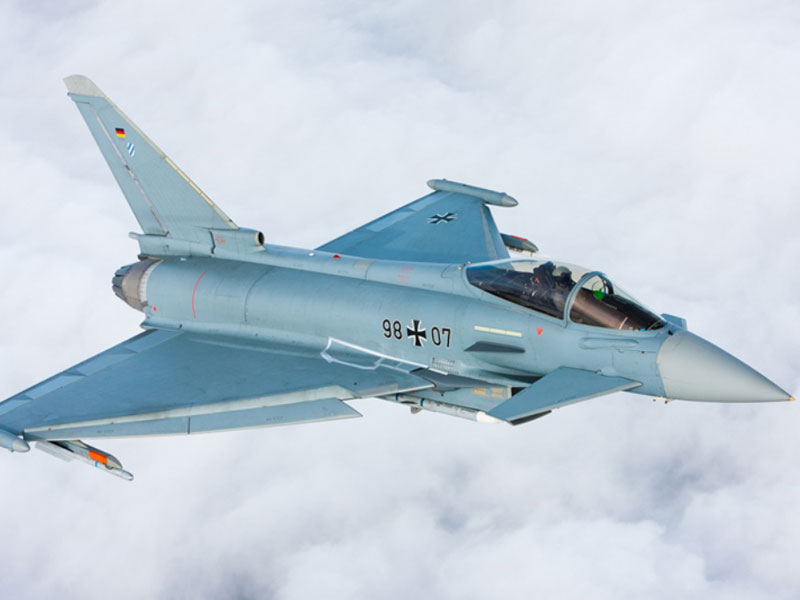 Airbus DS Flight-Tests Eurofighter Aerodynamic Upgrades