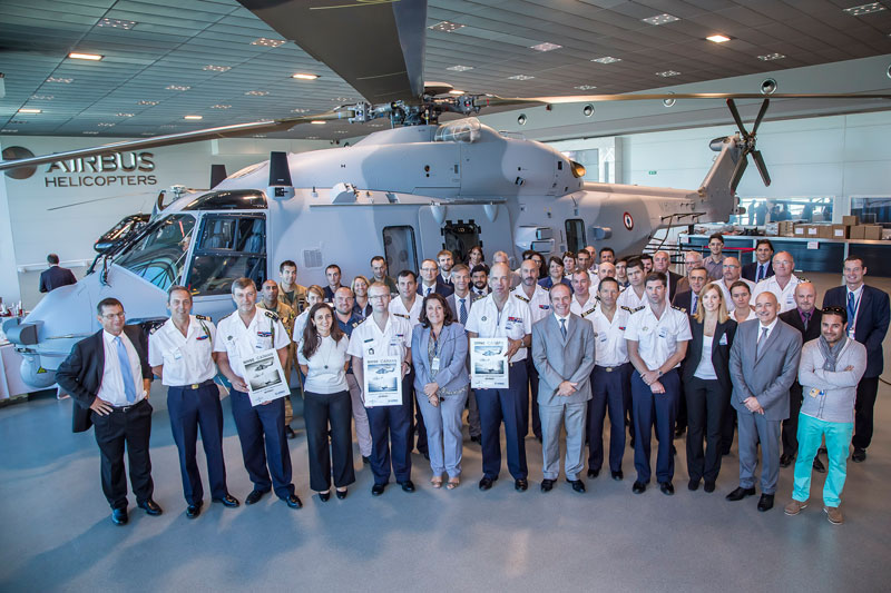Airbus Helicopters Delivers 15th NH90 NFH to French Navy