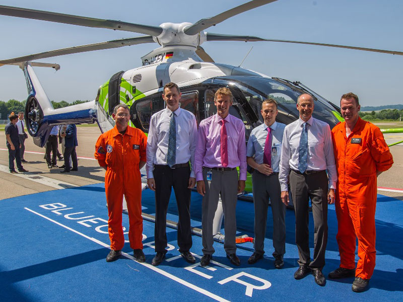 Airbus Helicopters Unveils Eco-Friendly Bluecopter