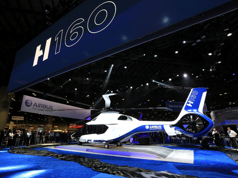 Airbus Helicopters Unveils its All-New H160 Rotorcraft