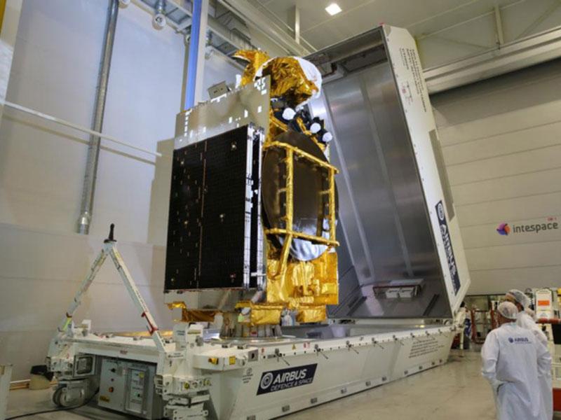 ARABSAT Badr7 Satellite Leaves Airbus Defence & Space