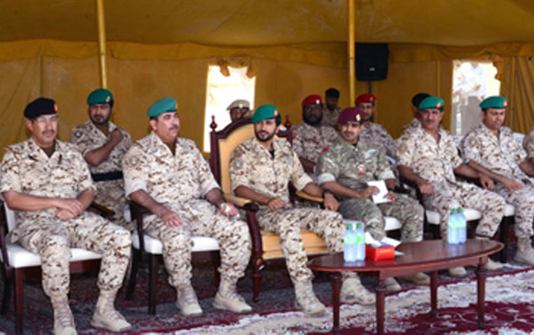Bahrain Guard Commander Attends Graduation Ceremony