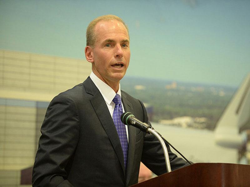 Boeing Names Dennis Muilenburg Chief Executive Officer