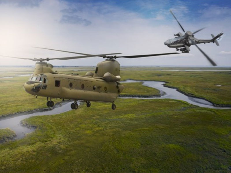 Boeing to Supply 22 Apache, 15 Chinook Helicopters to India