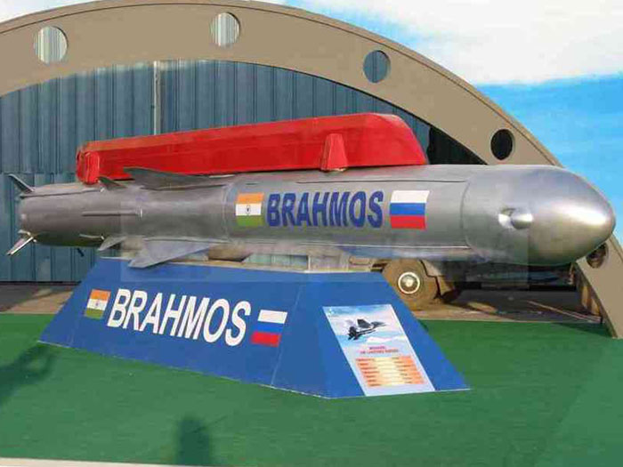 BrahMos Cruise Missile to be Launched from Su-30MKI Jet