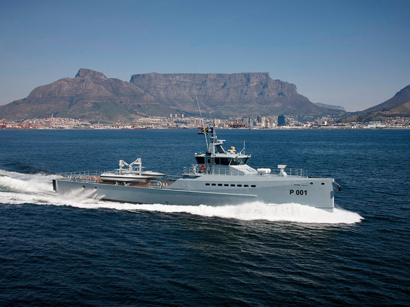 Damen Builds 2 FCS 5009 Patrol Vessels in South Africa