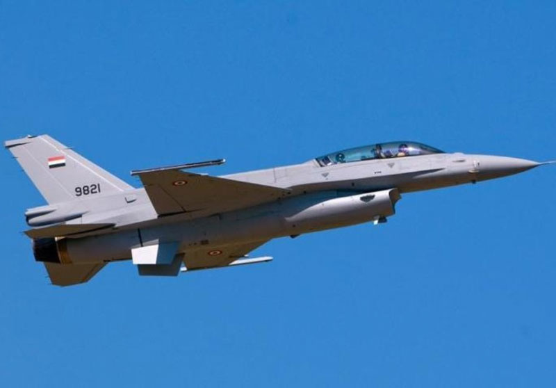 Egypt Receives Eight F-16 Block 52 Aircraft from the US