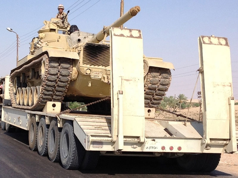 Egyptian Army Launches Major Military Operation in Sinai