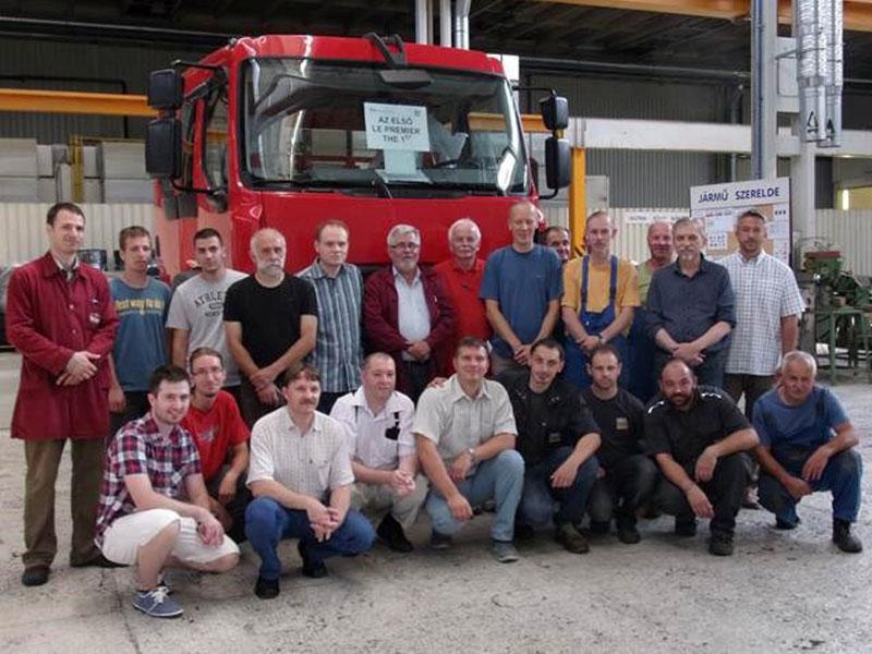 First Assemble Fire Truck Under RENAULT TRUCKS DEFENSE-RABA Contract