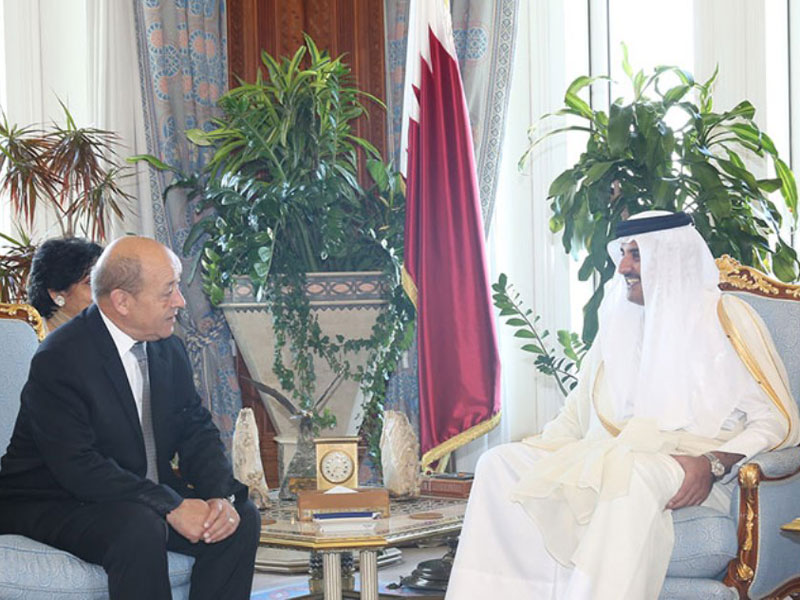 French Defense Minister Visits Qatar