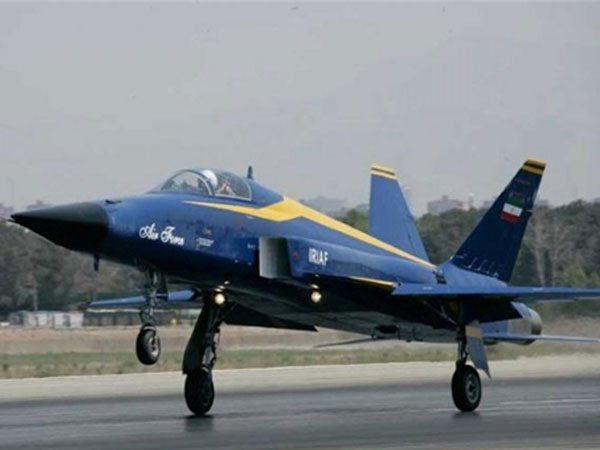 Iran Starts Mass Production of Saeqeh Fighter Jet