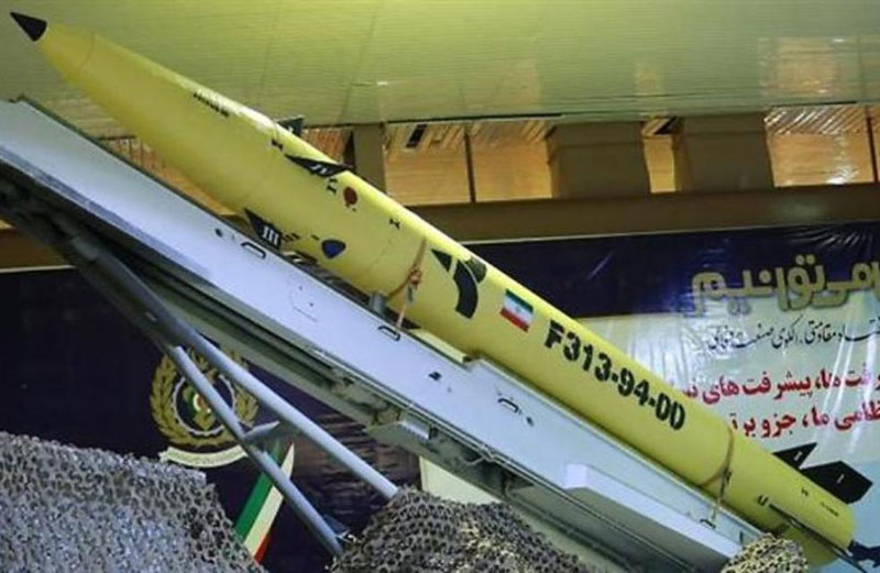 Iran Unveils Fateh313 New Missile with 500 Km Range