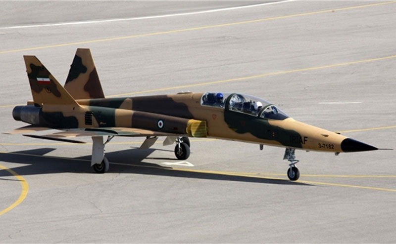 Iran Unveils New Home-Made Fighter Jet