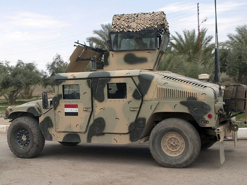 Iraqi Forces Lost 2,300 US Humvees to ISIS