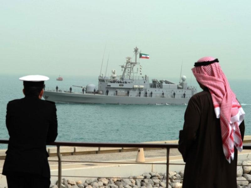 Kuwaiti Naval Force Conducts Ammunition Exercise