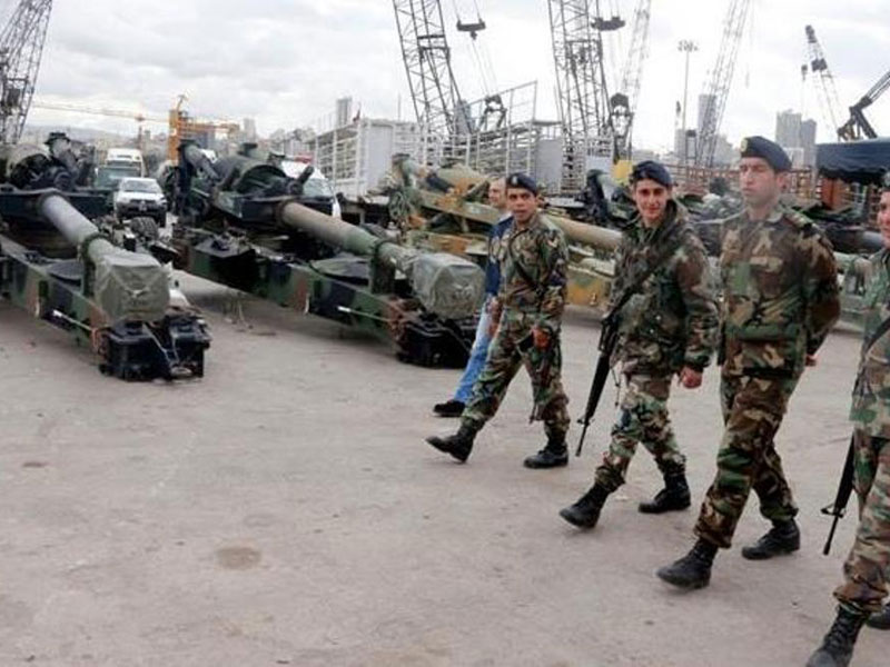 Lebanese Army Receives New Shipment of US Weapons