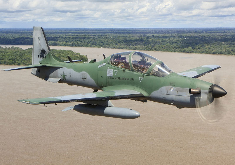 A-29 Super Tucano Aircraft