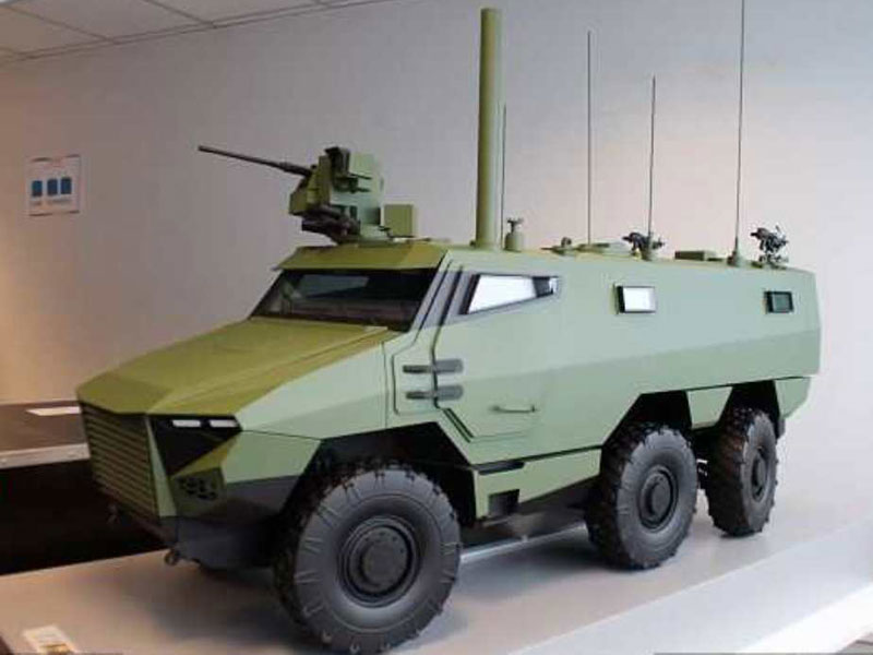 METRAVIB to Equip French Army's Future Armored Vehicles