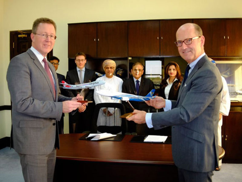 Oman Air, Cargolux Sign Joint Venture Agreement