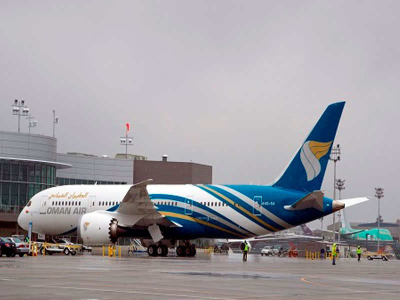 Oman Air Welcomes First Boeing 787 Dreamliner