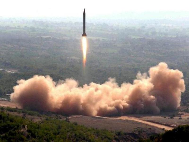 Pakistan Test Fires Nuclear-Capable Ballistic Missile