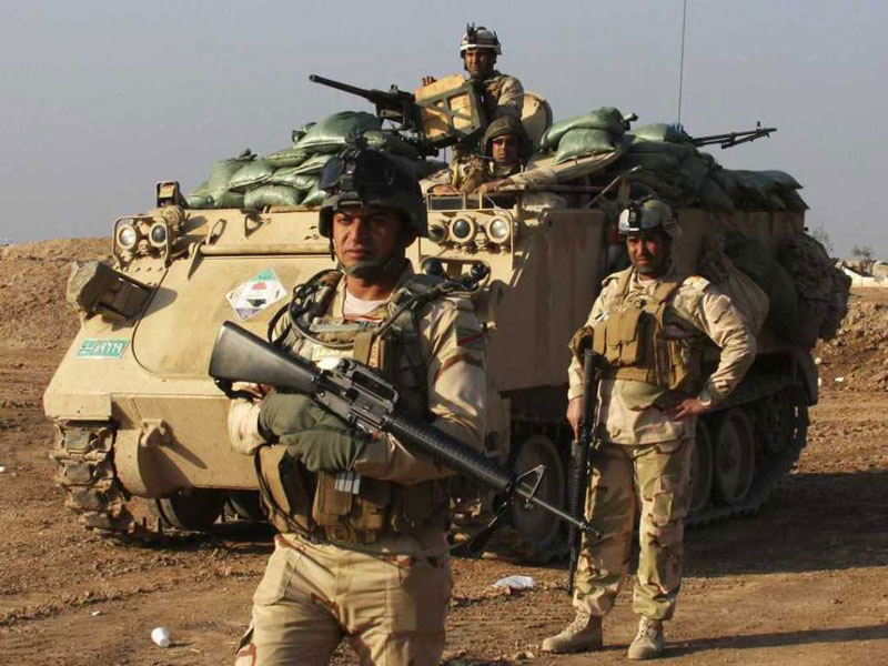 Pentagon: 3,600 Iraqi Security Forces in Training