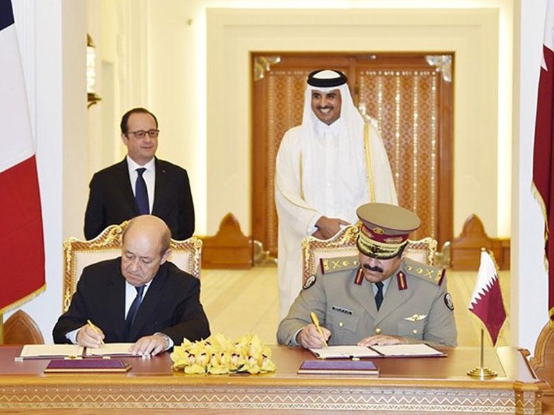 Qatar, France, Sign $7 bln Deal for 24 Rafale Jets