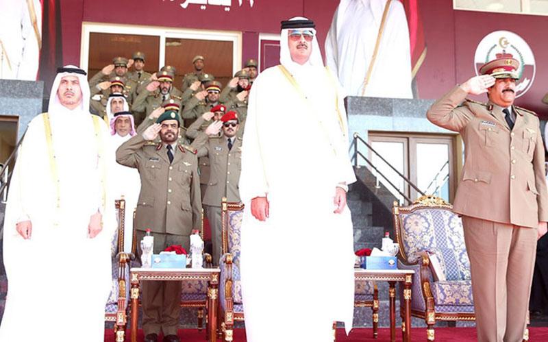 Qatar's Emir Patronizes Cadets Graduation Ceremony