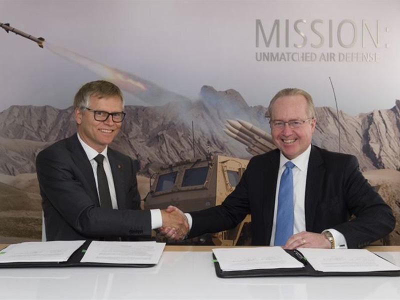Raytheon and Kongsberg Extend Partnership on NASAMS