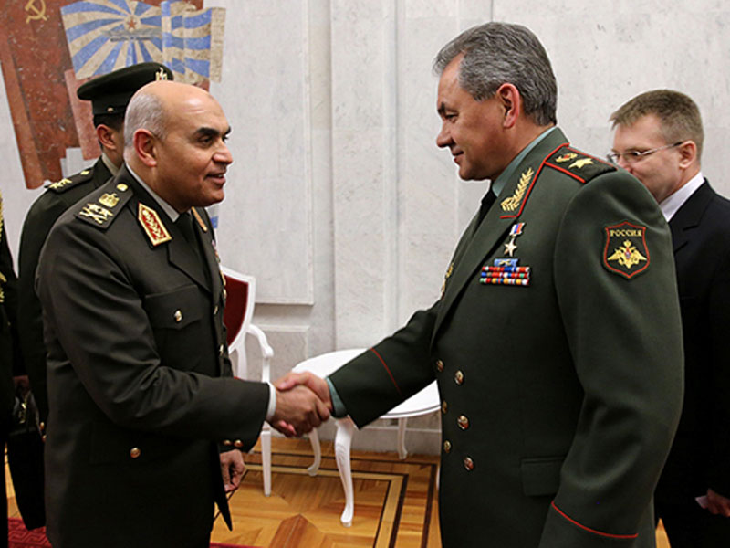 Russia, Egypt Sign Three Military Cooperation Agreements
