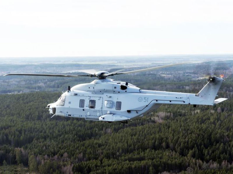 Saab Signs NH90 Component Maintenance Order with FMV