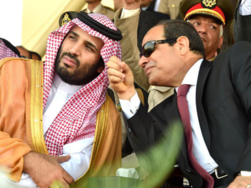 Saudi Arabia, Egypt Agree to Boost Military & Economic Ties