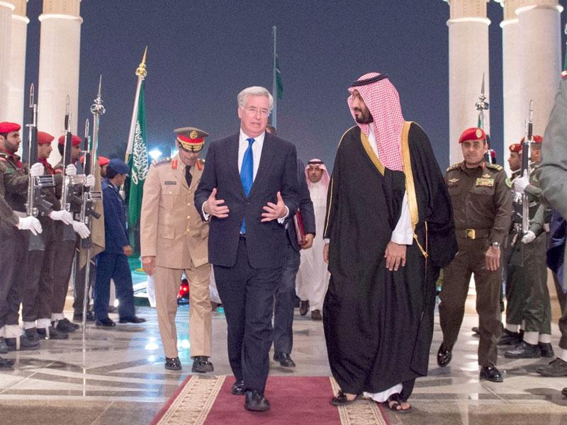 Saudi Arabia, United Kingdom Discuss Boosting Defense Ties