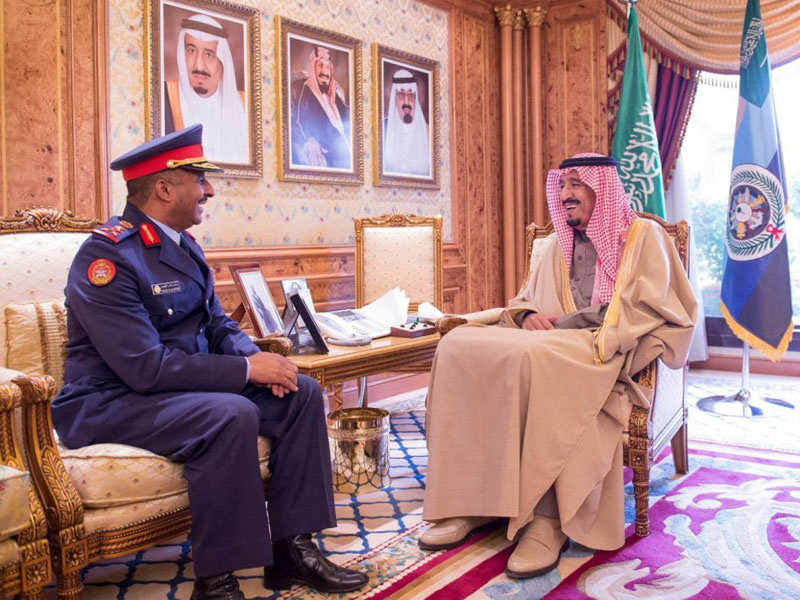 Saudi Crown Prince Meets Parting Kuwaiti Military Attaché