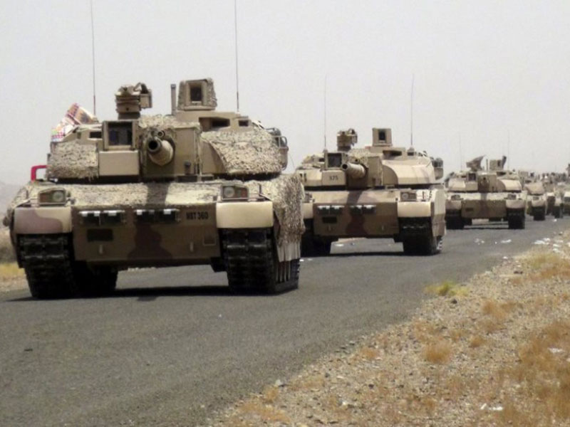 Saudi-Led Coalition Deploys 2,800 Ground Troops in Yemen