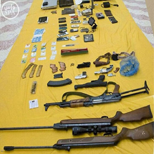 Saudi Security Forces Foil ISIS Cell in Riyadh & Dammam