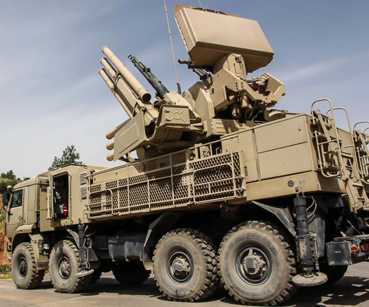 Sources: Russia Sending SA-22 Air Defense System to Syria