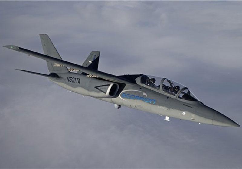 Textron AirLands Scorpion En Route to Paris Air Show