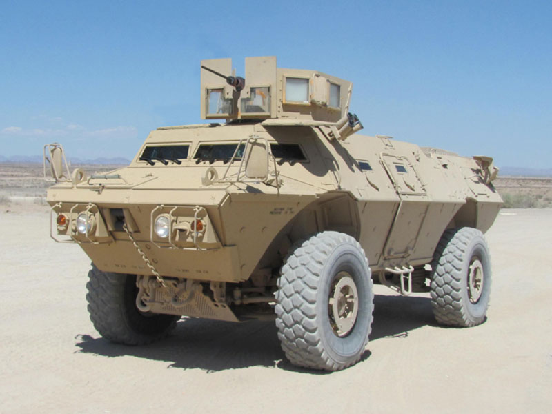 Textron to Supply 55 COMMANDO Vehicles to Afghanistan